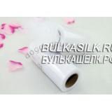 Тюль белый мелкая сетка 0,5 м * 15 см