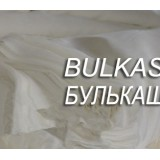 Шелк/хлопок бел шир 140 см 0,5 м